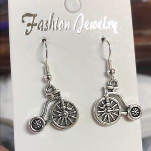 Jewelry - Cute little tricycle earrings